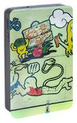 5719 - Graffiti Portable Battery Charger