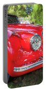 1954 Jaguar Xk 120 Se Ots  Portable Battery Charger