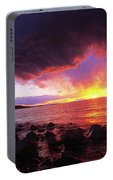 Antelope Island Sunset Portable Battery Charger