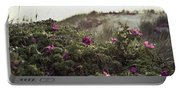 Rose Bush And Dunes Portable Battery Charger
