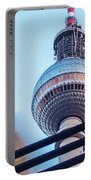 Berlin Tv Tower Portable Battery Charger