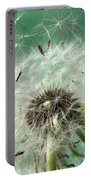 Dandelion Seeds On Flower Head Portable Battery Charger