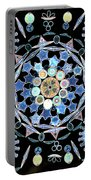 Diatoms Portable Battery Charger by M I Walker