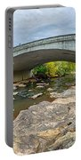 Downtown Of Greenville South Carolina Around Falls Park Portable Battery Charger