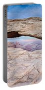 famous Mesa Arch in Canyonlands National Park Utah  USA Portable Battery Charger