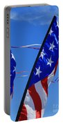 Patriotic Flying Kite Portable Battery Charger
