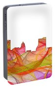 Fort Wayne Indiana Skyline Portable Battery Charger