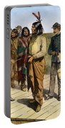 Geronimo 1829-1909.  To License For Professional Use Visit Granger.com Portable Battery Charger