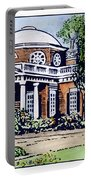 Jefferson: Monticello Portable Battery Charger