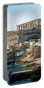 La Valletta Old Town Fortifications Architecture Scenic View In  Portable Battery Charger