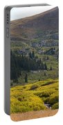 Mount Bierstadt In The Arapahoe National Forest Portable Battery Charger