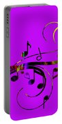 Music Flows Collection Portable Battery Charger