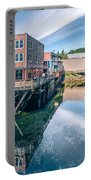 Old Historic Town Of Ketchikan Alaska Downtown Portable Battery Charger