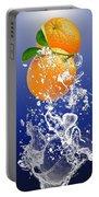 Orange Splash Portable Battery Charger