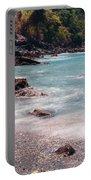 Rocky Seashore Portable Battery Charger
