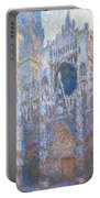 Rouen Cathedral, West Facade Portable Battery Charger
