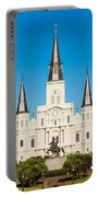 Saint Louis Cathedral Portable Battery Charger