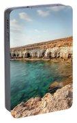 Sea Caves Ayia Napa - Cyprus Portable Battery Charger