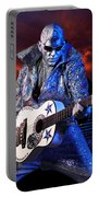Silver Elvis Portable Battery Charger