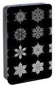 Snowflake Simulation Portable Battery Charger