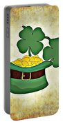 St. Patrick's Day Portable Battery Charger