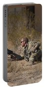 U.s. Soldier Conducts A Combat Training Portable Battery Charger