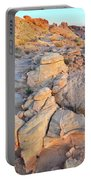Valley Of Fire Sunrise Portable Battery Charger