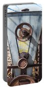 Vintage Grain Elevator Portable Battery Charger