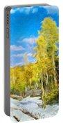 Landscape Paintings Canvas Prints Nature Art  Portable Battery Charger