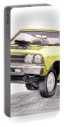 69 Chevelle Ss Portable Battery Charger