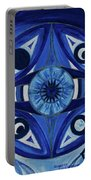 6th Mandala - Third Eye Chakra  Portable Battery Charger
