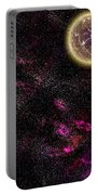 Abstract Stars Nebula Portable Battery Charger