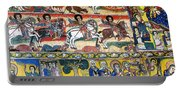 Ancient Orthodox Church Interior Painted Walls In Gondar Ethiopi Portable Battery Charger
