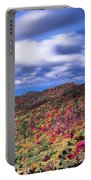Beautiful Autumn Landscape In North Carolina Mountains Portable Battery Charger