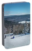 Beautiful Nature And Scenery Around Snowshoe Ski Resort In Cass  Portable Battery Charger