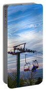 Beautiful Winter Landscape At Timberline West Virginia Portable Battery Charger