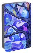 7 Birds On A Tree Portable Battery Charger