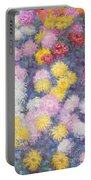 Chrysanthemums Portable Battery Charger