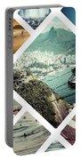 Collage Of Rio De Janeiro Portable Battery Charger
