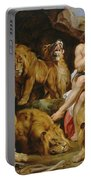 Daniel In The Lions' Den Portable Battery Charger
