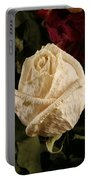 Dried Roses Portable Battery Charger