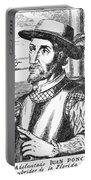 Juan Ponce De Leon Portable Battery Charger