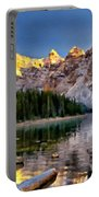 Landscape In Painting Portable Battery Charger