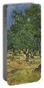 Olive Orchard Portable Battery Charger