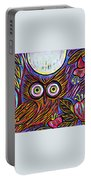 Owl Midnight Portable Battery Charger