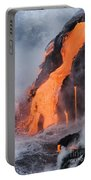 Pahoehoe Lava Flow Portable Battery Charger