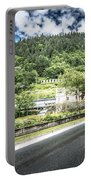 Port Of Juneau Alaska And Street Scenes Portable Battery Charger