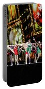 Radio City Rockettes New York City Portable Battery Charger