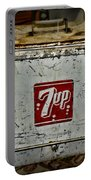 7 Up Vintage Cooler Portable Battery Charger