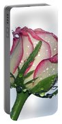 Beautiful Rose Portable Battery Charger